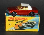 Matchbox Superfast Mercedes-Benz 350 SL 1973 Metall in Original Box (6431)