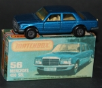 Matchbox Superfast Mercedes-Benz 450 SEL 1979 Metall in Original Box (6435)